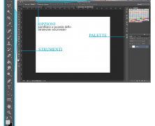 Photoshop: Interfaccia e area di lavoro