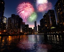 Aggiungere dei fuochi d'artificio