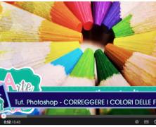 Correggere i colori di una foto