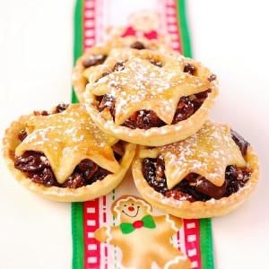 Mince pie: tipico dolce natalizion della Gran Bretagna Fonte: www.peasepudding.wordpress.com