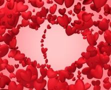 Cenetta romantica di San Valentino