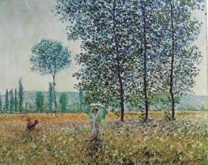 Campi in Primavera, Claude Monet, 1887