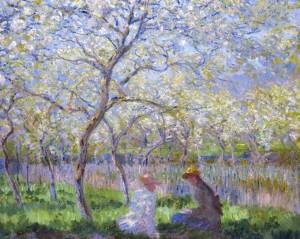 Primavera, Claude Monet, 1886