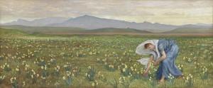 La Primavera, Walter Crane, 1883