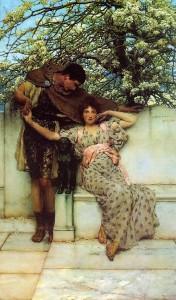 Promesse di primavera, Laurence Alma-Tadema, 1890