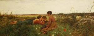 Primavera, Francesco Gioli, 1879