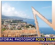 Creare effetto foto strappata