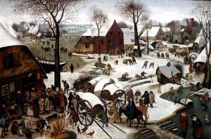 Censimento a Betlemme Pieter Bruegel il Giovane