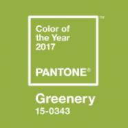 Pantone 2017 Greenery