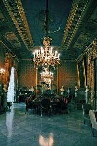 Una delle sale del Comune di Palermo