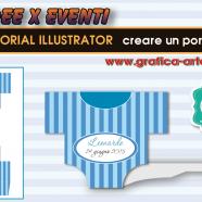 IDEE X EVENTI creare un portaconfetti per Battesimo – Tut. Illustrator